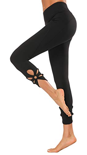 Gap Women Pants - X-Fit Womens High Waist Yoga Pants Compression Workout Leggings(Black04, M)