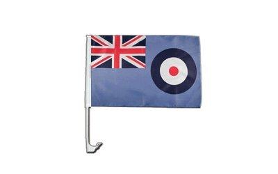 Autofahne Autoflagge Großbritannien Royal Airforce - 30 x 40 cm Flaggenfritze