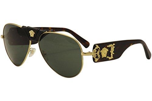 Versace Mens Sunglasses Gold Metal product image