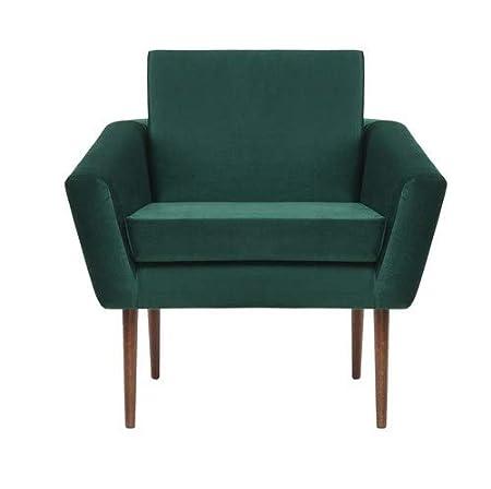 Sternzeit-design Empire - Sillón de Terciopelo, Color Verde ...