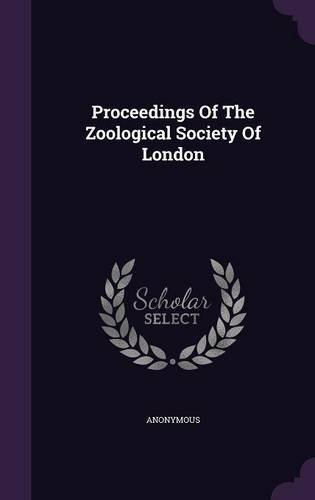 Download Proceedings of the Zoological Society of London ebook