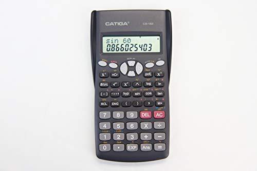 CATIGA CS-183 2-Line LCD Display Scientific Calculator  Suitable for School and Business
