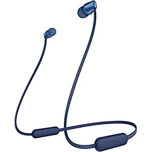 Sony WI-C310 Wireless in-Ear Headphones with 15 Hours Battery Life, Quick Charge, Magnetic Earbuds, Tangle Free Cord…