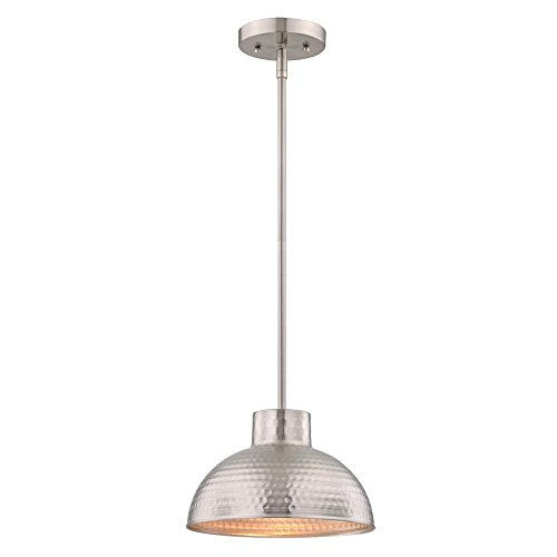 Brushed Nickel Island Pendant Lighting - 7