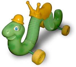Original Vintage 1970's Hasbro Inchworm Ride-on