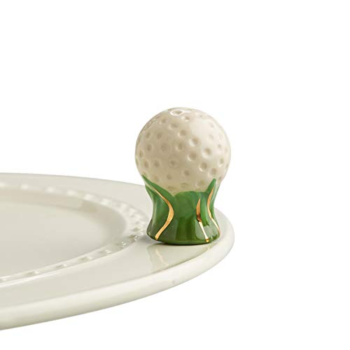 Hand Painted Golf Ball - Nora Fleming Hand-Painted Mini: Hole in One (Golf Ball) A57