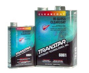 TRANSTAR 6861 Hi Gloss Clear Coat - 1 Gallon