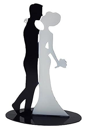 Brautpaar Hochzeitspaar Tortenaufsatz Tortenfigur Dekofigur