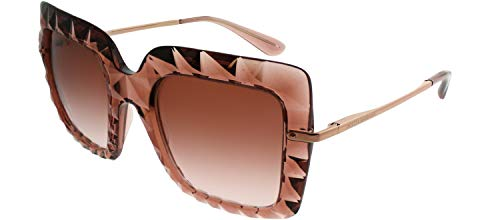 Dolce and Gabbana DG6111 314813 Pink DG6111 Square Sunglasses Lens Category 2 ()