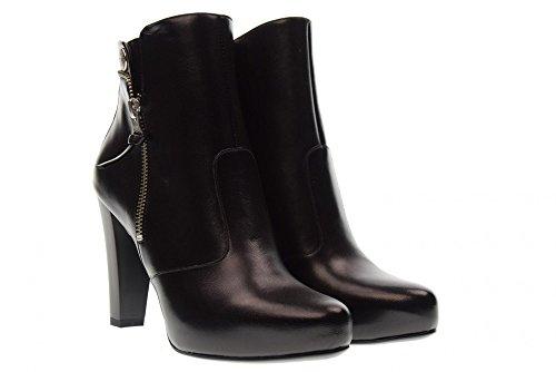 de Black Black Cheville Chaussures des Nero la 100 A719622DE Giardini Talons avec pvqwO