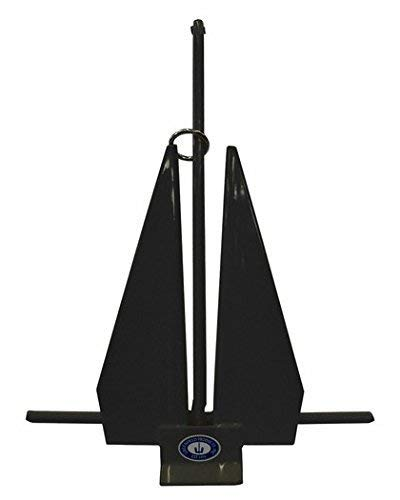 Poly Coated Slip Ring Anchor Black