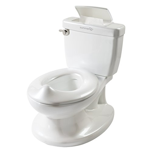 Large Product Image of Summer Infant My Size Potty - Training Toilet for Toddler Boys & Girls - with Flushing Sounds and Wipe Dispenser