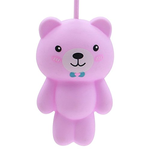 Jys365 Cute Cartoon Animal Cat Silicone Keychain Keyring Holder Coin Purse Case Bag Wallet Hanging Pendant Ornament