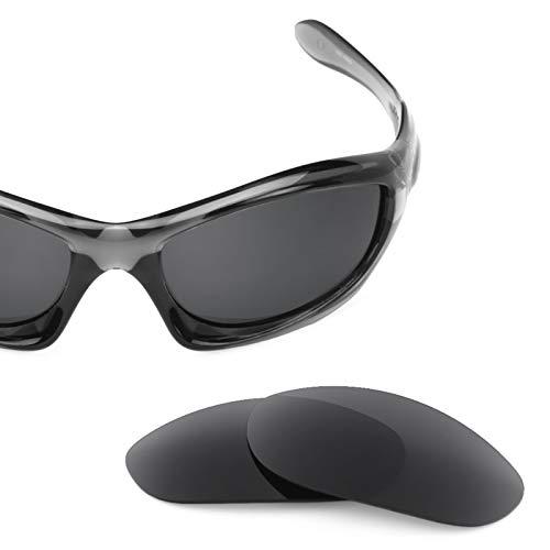 Revant Polarized Replacement Lenses for Oakley Monster Dog Elite Stealth Black