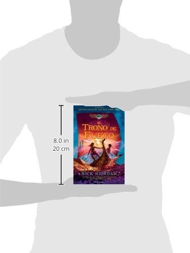 Amazon.com: El trono de fuego: Las crónicas de Kane, Libro 2 (Spanish Edition) (9780307949134): Rick Riordan: Books
