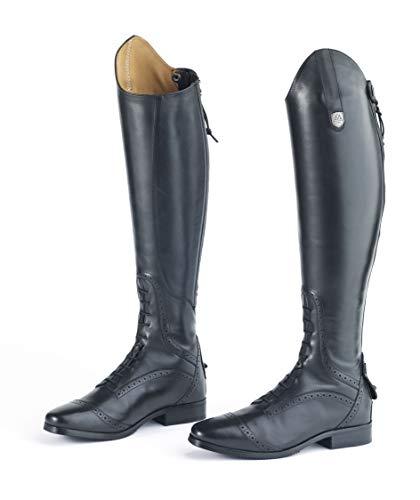 Mountain Horse Ladies' Superior Field Boot (8 Slim/Tall, Black)