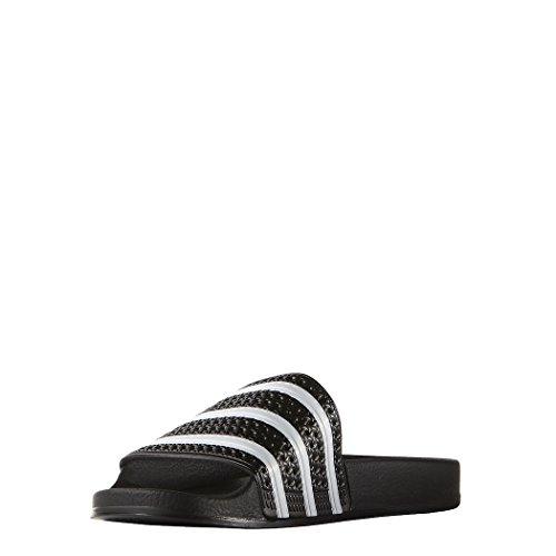 adidas Originals ADILETTE 280647, Sandales mixte adulte Noir (Core Black/White/Core Black)