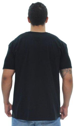 8e005de7 Ed Hardy Mens Flaming Skull Tattoo Graphic Tee Shirt - Black - Large