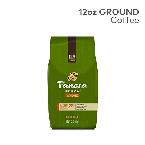 - Panera Hazelnut Crème, Ground Coffee, Flavored Coffee, Bagged 12oz., 12 Ounce