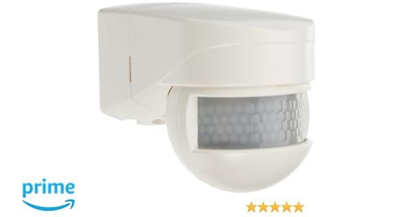 B.E.G 91052 LC-Mini 180 - Detector de movimiento, color blanco: Amazon.es: Bricolaje y herramientas
