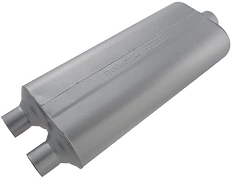 Flowmaster 530702 70 Series Muffler Mild Sound 2.50 Dual OUT 3.00 Center IN