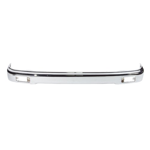 Pickup Front Bumper Chrome Impact Face Bar Steel Assembly w//o Towing Package 341-19469-10 GM1002833 15901505? CarPartsDepot