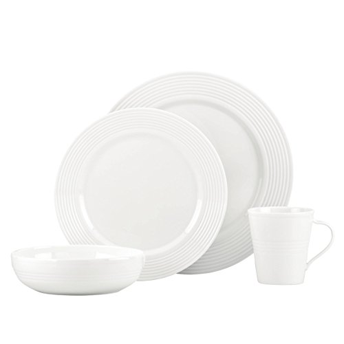 (Lenox Tin Can Alley 7 Degree Bone China 4-Piece Place Setting, Service for 1)
