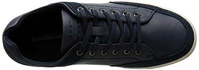 CK Jeans Men's Zash Smooth/Suede Fashion Sneaker
