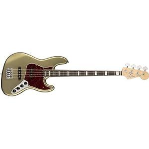 American Elite Jazz Bass EB (Satin Jade Pearl Metallic)