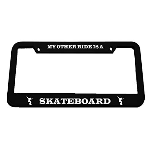 license plate frame skateboard - 5