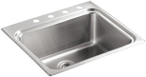 KOHLER K-3206-4-NA Ballad Self-Rimming Utility Sink by Kohler