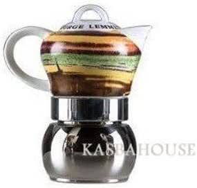 Hornillo, arte Lemmen cafetera Pot por Vev Vigano fabricado en Italia: Amazon.es: Hogar