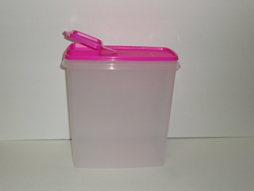 Tupperware Super Cereal Store Storer 20 Cup Neon Electric Pink Seal (Tupperware Super Cereal)