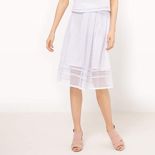 La Redoute Womens Maxi Skirt White Size US 4 ()