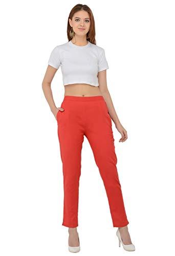 Chudidar Kurta Dress - Sabhyata Womens 100% Cotton Straight Fit Regular Pants Dress Trouser Pants with Kurtis