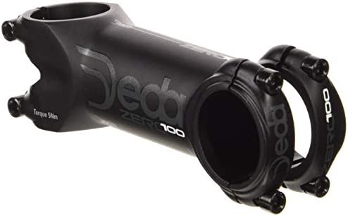 Deda Zero 100 - Potencia para Bicicleta, 126 g, Color Negro, 110 ...