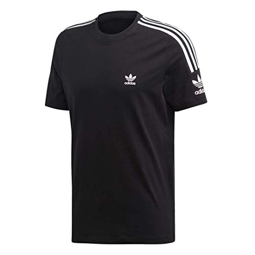 adidas Originals Men's Lock Up Tee, black, Small