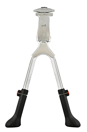 """Cheap Lumintrail Center Mount Double Leg Bike Kickstand Quick Adjust Height fits Most 24"""" 26"""" 28"""" 700c Bicycle"""