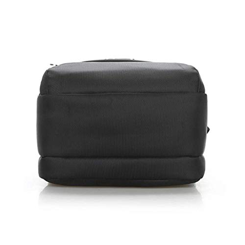 Men's Bag Simple Shoulder Messenger Red S Size Leisure Travel Black color Essential TwqTr4RxW