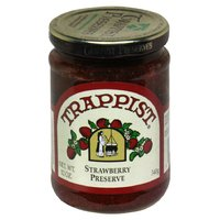 Trappist Strawberry Preserve- All Natural 12 oz.