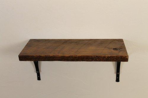 Style 3 : Rustic, Wood Shelf, Pine, 18