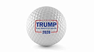 The Best - Donald Trump Wilson Ultra Golf Balls, (One Dozen) - United States of America