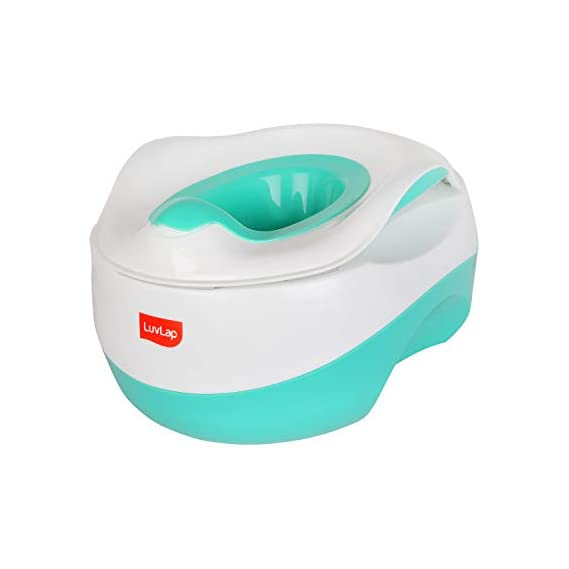 LuvLap Classic Multifunctional 3-in-1 Baby Potty Seat, 12m+ (Green)