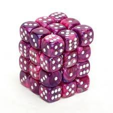 6-Sided Dice: Festive Violet by Chessex