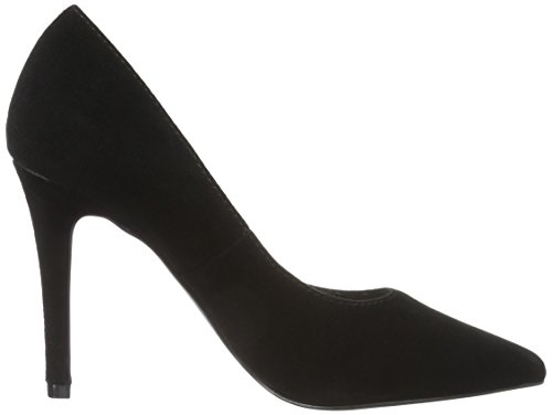 Bianco Suede Basic Pump Son16 - Tacones Mujer Negro