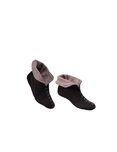 Pour gris Noir L188h01 Raikou Chaussons Femme qXFfnEw