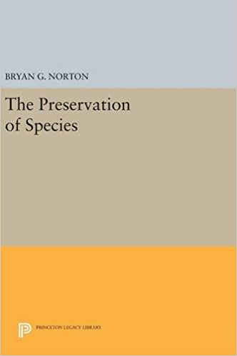 Book The Preservation of Species (Princeton Legacy Library)