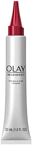 Wrinkle Cream by Olay Regenerist Instant Fix Wrinkle & Pore Vanisher, 1.0 Fl Oz Packaging may Vary