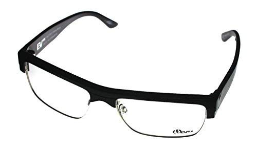 Electric Mens Eyewear Frame Mutiny Gloss Black Plastic Square ()