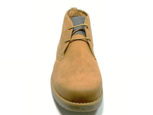 Mens 506008 Lace Up Ankle High Chukka Desert Boots Brown WQdDpjBel